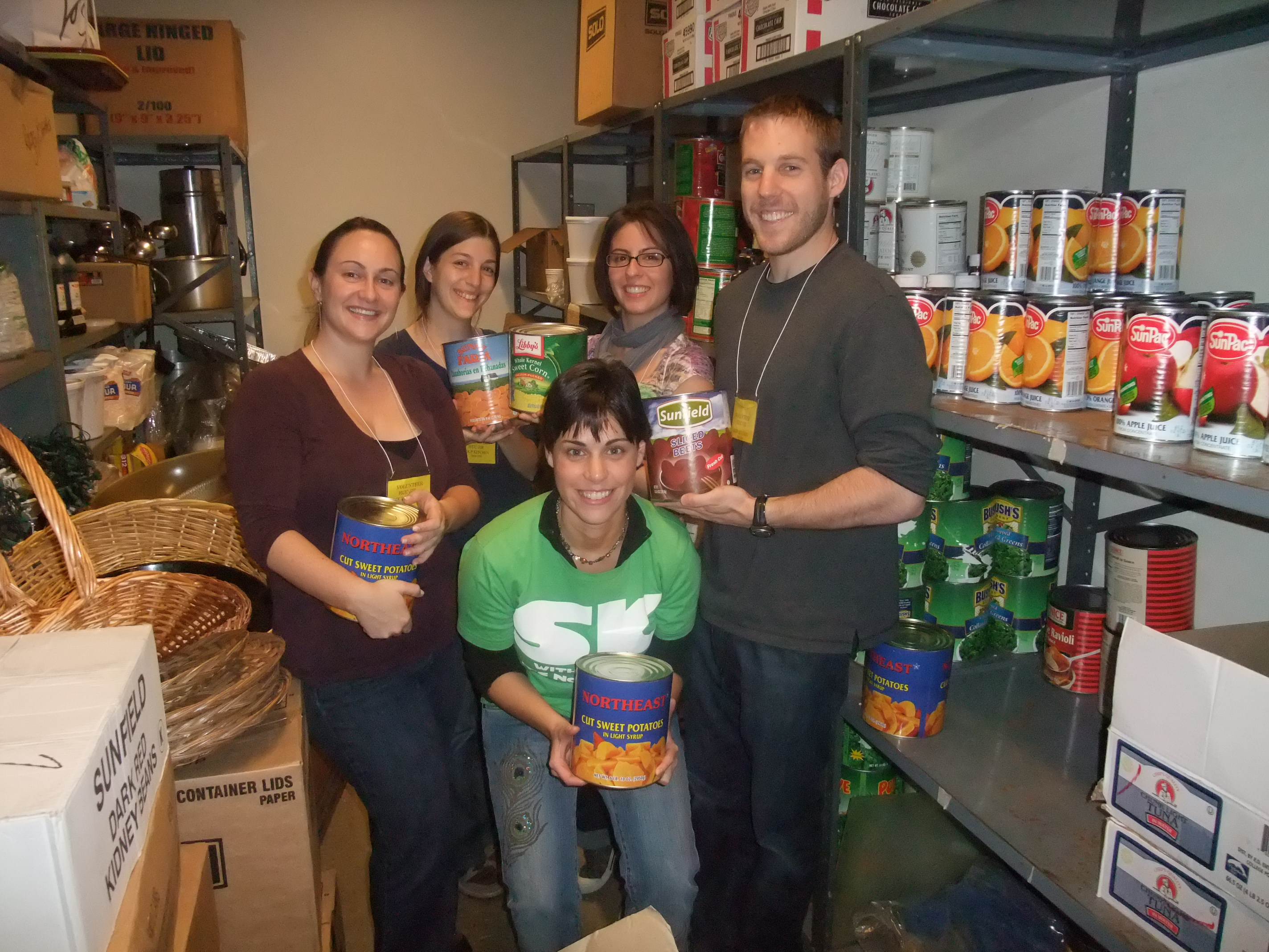 At HUC Food Bank