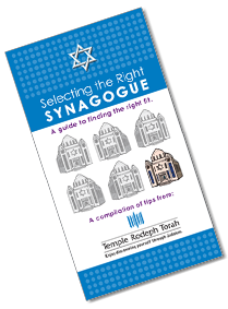 How to Select a Synagogue